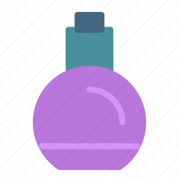 bottle, container, fragrance, parfume icon