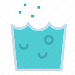 drink, glass, mineral, soda, water icon
