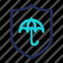 insurance, protect, protection, shield, umbrella