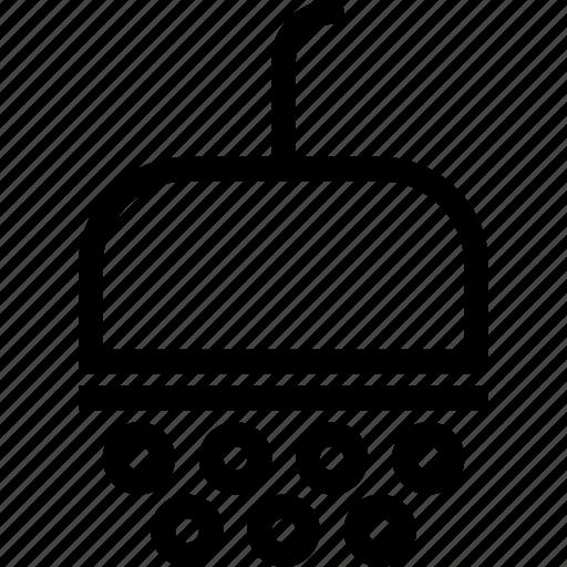 bath, drop, shower, water icon
