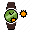 repairer, watch, watchmaker icon