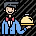 catering, restaurant, serve, service, waiter