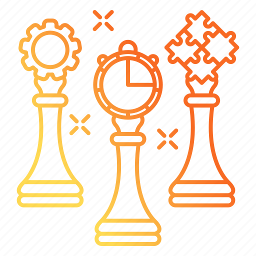 career advancement, strategy, team, teamwork, thinking icon