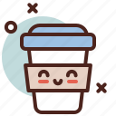 circus, coffee, party icon