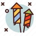 circus, fireworks2, party icon