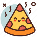 circus, party, pizza icon