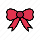 bow, gift, present, ribbon, tie
