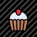 cupcake, delicious, dessert, muffin, sweet