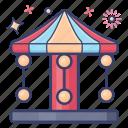amusement park, carousel, enjoyment, entertainment, kids playground, recreation activities