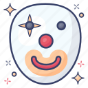 clown, evil joker, halloween, joker face, scary clown, scary joker