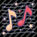 lyrics, melody, music, nota, songs icon