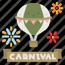 balloon, label, party, celebration, decoration