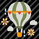 balloon, trip, travel, hot, air