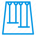 amusement, enjoyment, garden, holiday, park, ride, swing icon