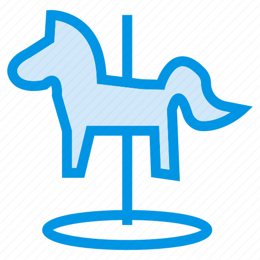 Animal, enjoy, game, horse, playing, riding, toy icon - Download on Iconfinder