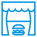 burger, deliciuous, eat, fastfood, food, meal, restaurant icon