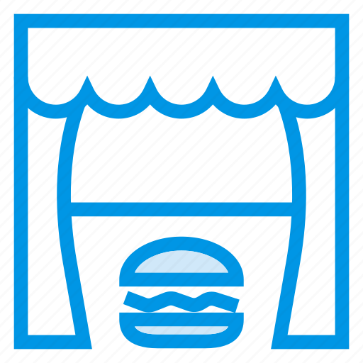 Burger, deliciuous, eat, fastfood, food, meal, restaurant icon - Download on Iconfinder