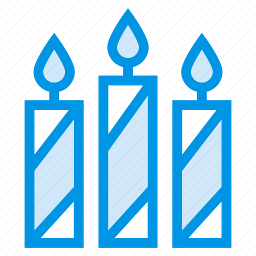Birthday, candles, christmas, fire, holiday, light, table icon - Download on Iconfinder