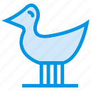 baby, bird, cute, duck, gaming, nature, toy icon