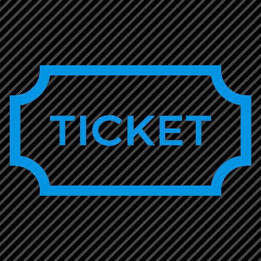 museum, plane, planeticket, show, ticket, travel, voucher icon