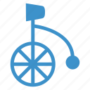 circus, cycle, enjoy, funny, party, stage, wheel icon