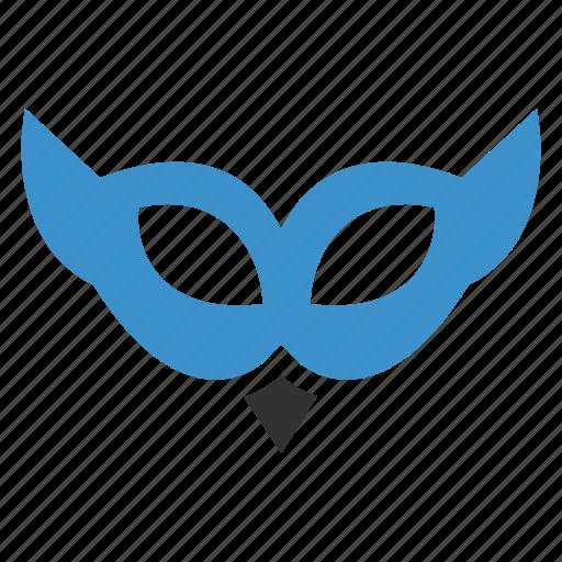 anonymous, disco, eye, hide, hideicon, party, visible icon