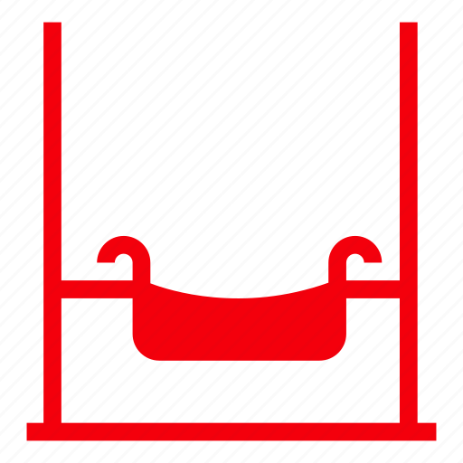 amusement, circus, garden, holiday, park, parkswing, swing icon
