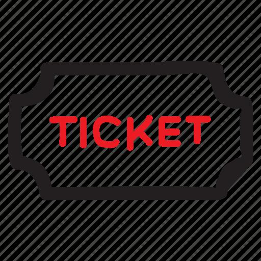 Museum, plane, planeticket, show, ticket, travel, voucher icon - Download on Iconfinder