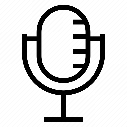 Audio, mic, microphone, record, recording, reporter, speach icon - Download on Iconfinder