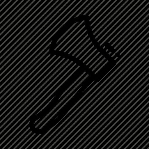 axe, carpenter, tool, tools, wood icon