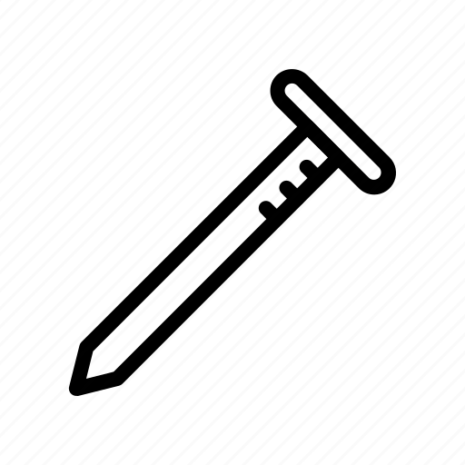 carpenter, nail, tool, tools icon