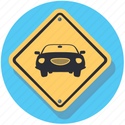 car, road, sign, transport, vehicle icon