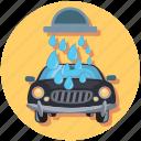 carwash, car, drop, water