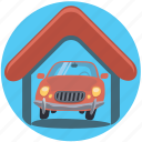 auto, automobile, car, garage, vehicle icon