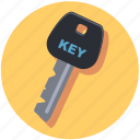 car, key, lock, security icon