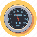 auto, car, pressure, speedometer, vehicle icon