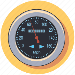 auto, car, pressure, speedometer, vehicle icon