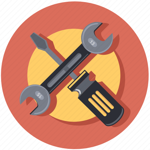 construction, equipment, repair, shape, tool icon
