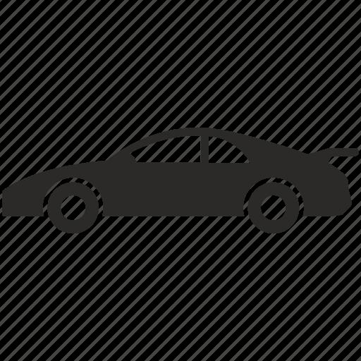 auto, automobile, car, motorcar, speed icon