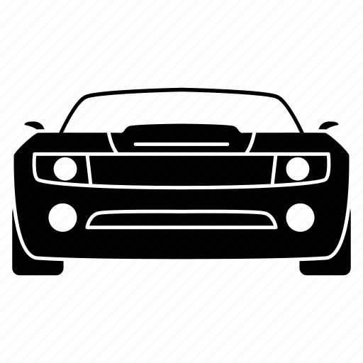 auto, car, dodge, transport, travel icon