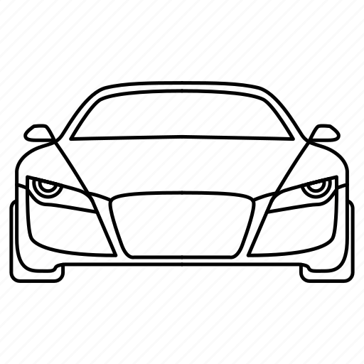 audi, auto, car, transport, travel icon