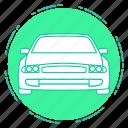 auto, car, chevrolet, transport, travel icon