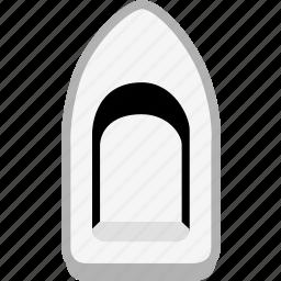 boat, ocean, sea, ship, transport, transportation icon