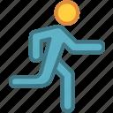 run, speed, speedometer, sport, sports icon