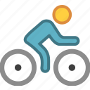 bicycle, bike, cycle, cycling, motor, motorbike, motorcycle icon