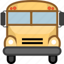 car, school bus, transport, transportation icon