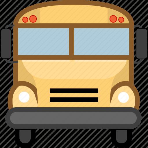 car, school bus, transport, transportation icon