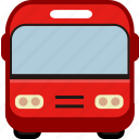 bus, bus station, road, station, transport, transportation icon
