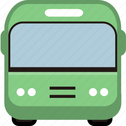 bus, bus station, car, station, transport, transportation icon