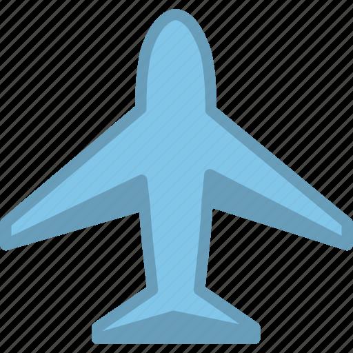 aeroplane, aircraft, airplane, plain, plane, transportation, travel icon